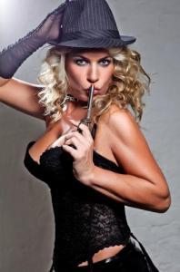 Striptease mit Stripperin Patty aus Hamburg