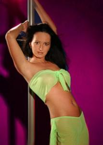 Striptease mit Stripperin Jill aus Berlin